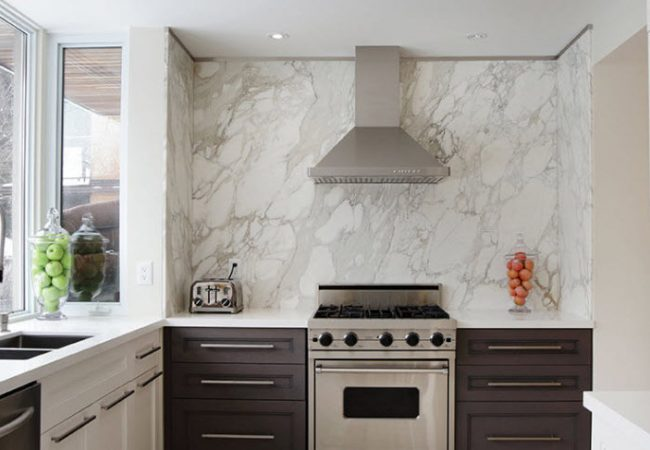 Marble, Granite & Quartz Backsplashes - Cabinets ...