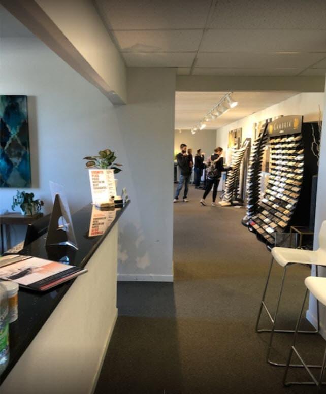 Granite PLus Fabricator Showroom - Cabinets and Countertops Showroom New Berlin Milwaukee