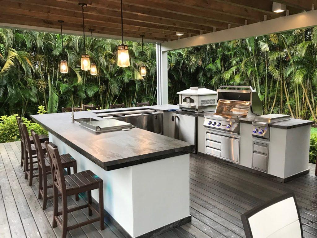 Granite & Quartz Countertops for Outdoor Kitchens in Milwaukee - Cabinets &  Countertops Milwaukee