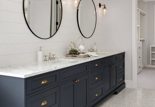 Custom Bathroom Vanity Tops In Granite Marble Quartz Natural Stone Cabinets Countertops Milwaukee