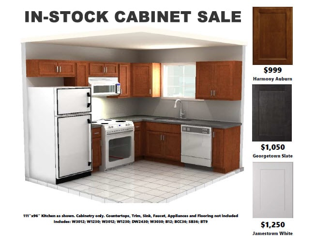 In-Stock Cabinet Sale
